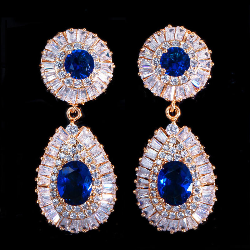 dubai gold earrings 10
