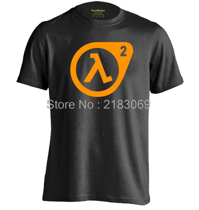 Game Half Life Mens & Womens Printing T Shirt Fashion Cotton T Shirt