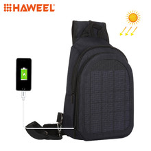HAWEEL New Arrival Solar Double Shoulder Backpack Bag