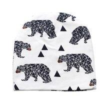 34f655da4df 2018 Stylish Baby Hats Soft Cotton Cartoon Pattern Caps for Newborn Baby  Girls Boys Crochet Elastic