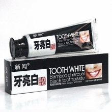 Free shipping whitening toothpaste 120g  whitening charcoal is charcoal toothpaste important component black charcoal toothpaste