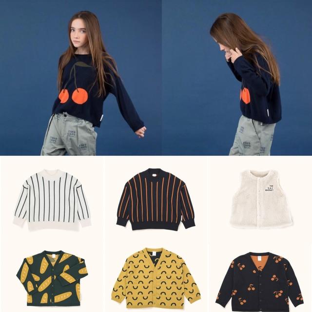 a4c3c3c9f Kids Clothes Sets Tiny Cottons 2018 Autumn Winter Boys Cherry ...