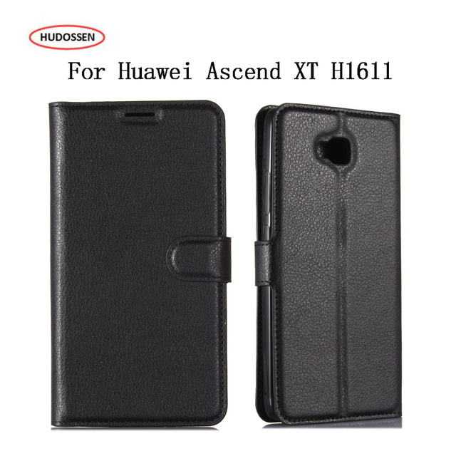 HUDOSSEN For Huawei Ascend XT H1611 Case 6.0 inch Luxury PU Leather Case Wallet Stand Flip Cover Case Capa For Huawei Ascend XT