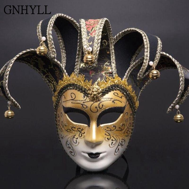 GNHYLL di nuovo modo di Venezia Maschera di Halloween mascherina del Partito Del Partito Della Decorazione di Carnevale Carnevale cosplay Multicolor