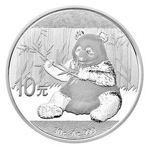 Новейшая монета панда! 2017 год Серебряная монета панда! 1 унция 10 юаней Серебряная монета с оригинальной коробкой и сертификатом подарок
