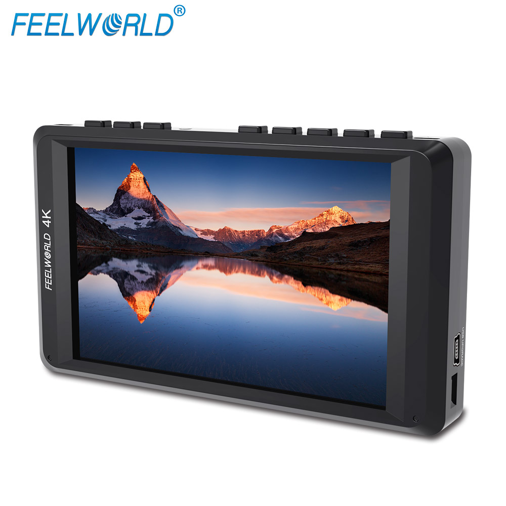 Feelworld FW450 4.5 IPS 4K HDMI Camera Field Monitor 1280x800 HD Portable LCD Monitor for DSLR with Peaking Focus Check Field f450 4 5 inch ips 1280x800 hd 4k field lcd camera monitor with hdmi input output uhd peaking focus and other monitor accessory