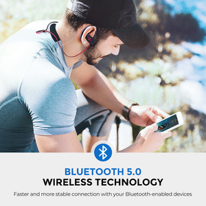 Image 4 - Mpow Flame 2 ipx7 Waterproof Bluetooth 5.0 Sports Earphone 13hours Playing Time HD Stereo Sound For iPhone Samsung Huawei Xiaomi