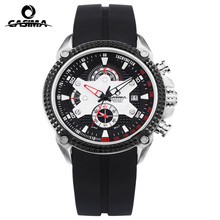 Luxury Brand CASIMA Sport Men Watches reloj hombre Casual Silicone band Military Waterproof Men Quartz Watch montre homme
