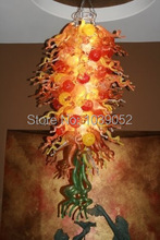 Free Shipping New Fashionable Mini House Modern Ceiling Long Chandelier