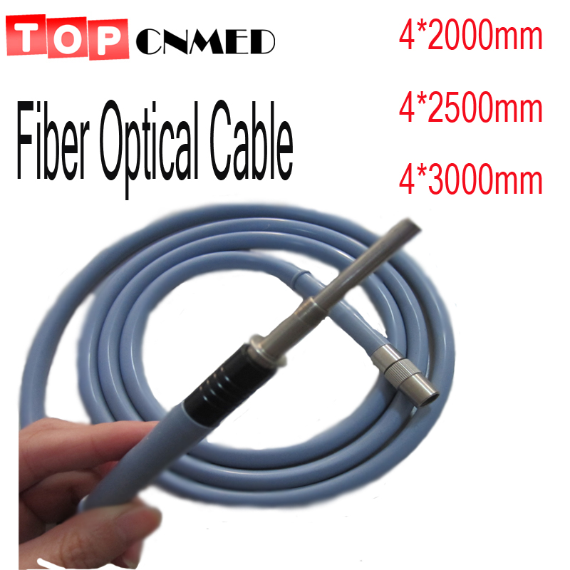 FDA CE fiber optic cable fiber cable silicone cable storz olympus Compatible diam 4mm length 2500mm