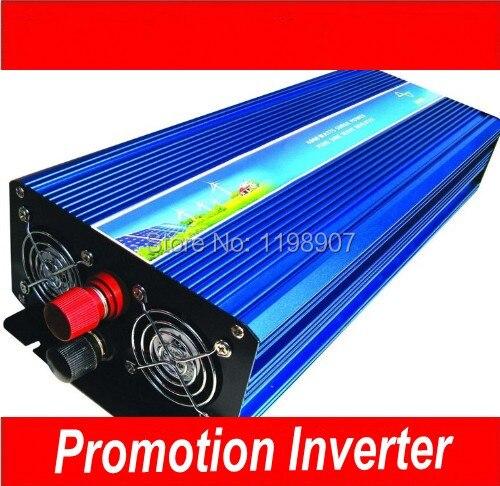 С высокой мощностью 3000 W модифицированная синусоида волна инвертор 24 V в 120 V 60 Hz 3000 w, От инвертора