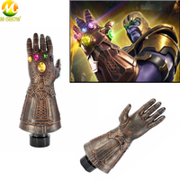 Avengers Infinity War Gloves Cosplay Avengers 3 Thanos Latex Glove For Halloween Party Costume Accessories