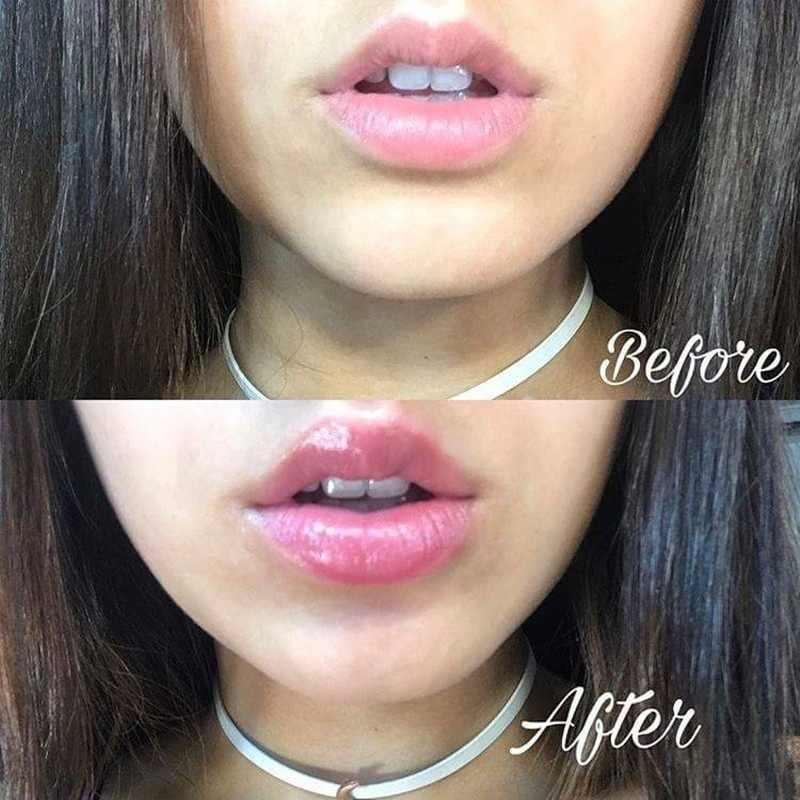 6 ML/1 Pcs שפתיים שמנמן שמן לחות לאורך זמן נפח שפתיים קיצוני מיני כוכב שמנמני שפות טיפול איפור