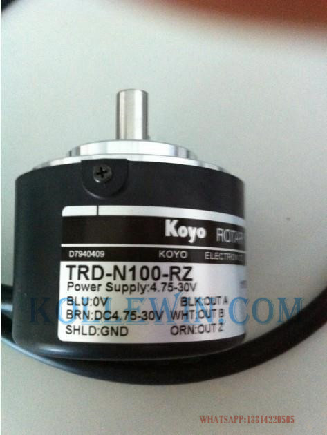 KOYO TRD-N1000-RZ  Photoelectric Incremental Rotary Encoder, TRDN1000RZ, TRD/N1000/RZ freeship koyo encoder trd j1000 rzw trd j1000rzw trd j series incremental rotary encoder 1 year warranty high performance