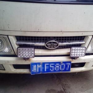 Image 2 - 4pcs 4 x 6inch LED Rectangular Headlights for Chevrolet Peterbilt 379 Buick Electra Freightliner FLD120