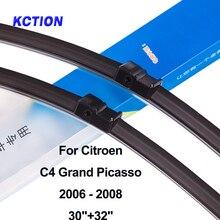 Лобовое стекло передняя щетка стеклоочистителя для автомобиля Citroen C4 Grand Picasso ветровое стекло заднего стеклоочистителя автомобильные аксессуары Подходит боковой штырь/штык/кнопка