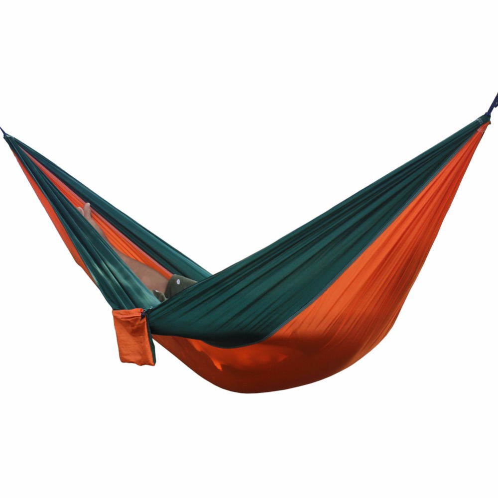 Portable Outdoor Hammock Garden Camping Sports Home Travel garden Hang Bed Double Person Leisure travel Parachute Hammocks wholesale portable nylon parachute double hammock garden outdoor camping travel survival hammock sleeping bed for 2 person
