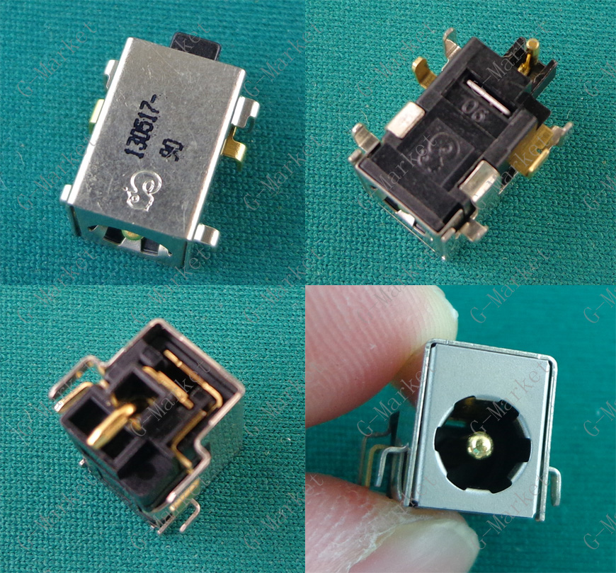 1 Piece DC Power Jack Port Socket Connector For HP Compaq NX6100 NX6110 NX6120 NC6110 NC6120 NW8200 NW8210 NW8220