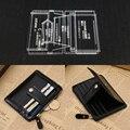 Unisex Brieftasche Vorlage Leder Klar Acryl Muster Modell für  Der Kurze Brieftasche Zipper Geldbörse Leathercraft Werkzeuge 12 8x5x1 cm Schnittmuster Heim und Garten -