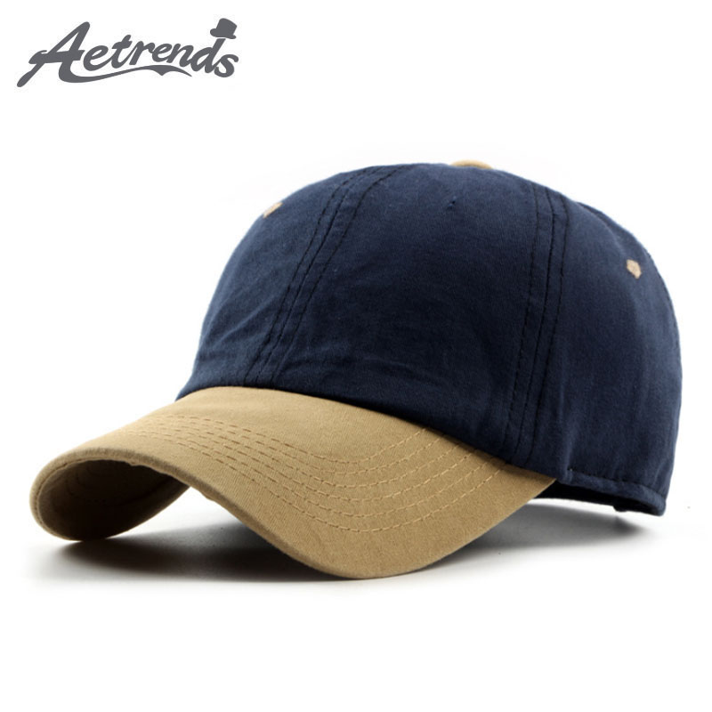 [AETRENDS] 2017 Summer Cotton   Baseball     Cap   Men Women Hats Snapback   Caps   Z-5328