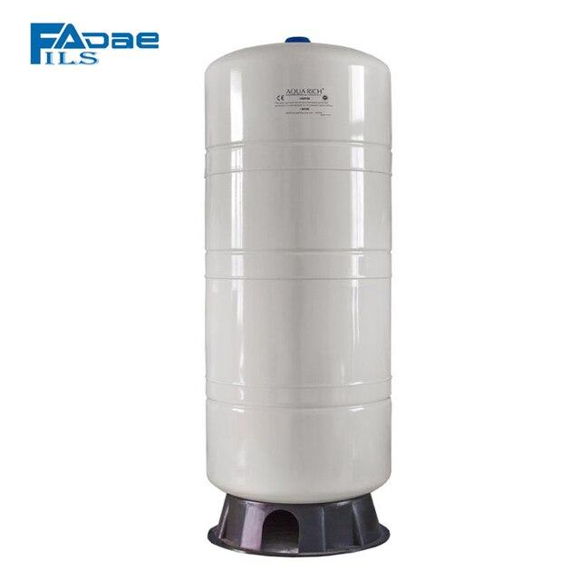PREMIUM ระบบ Reverse Osmosis แนวตั้งความดันถังฐานคอมโพสิต,28 แกลลอน,สีขาว