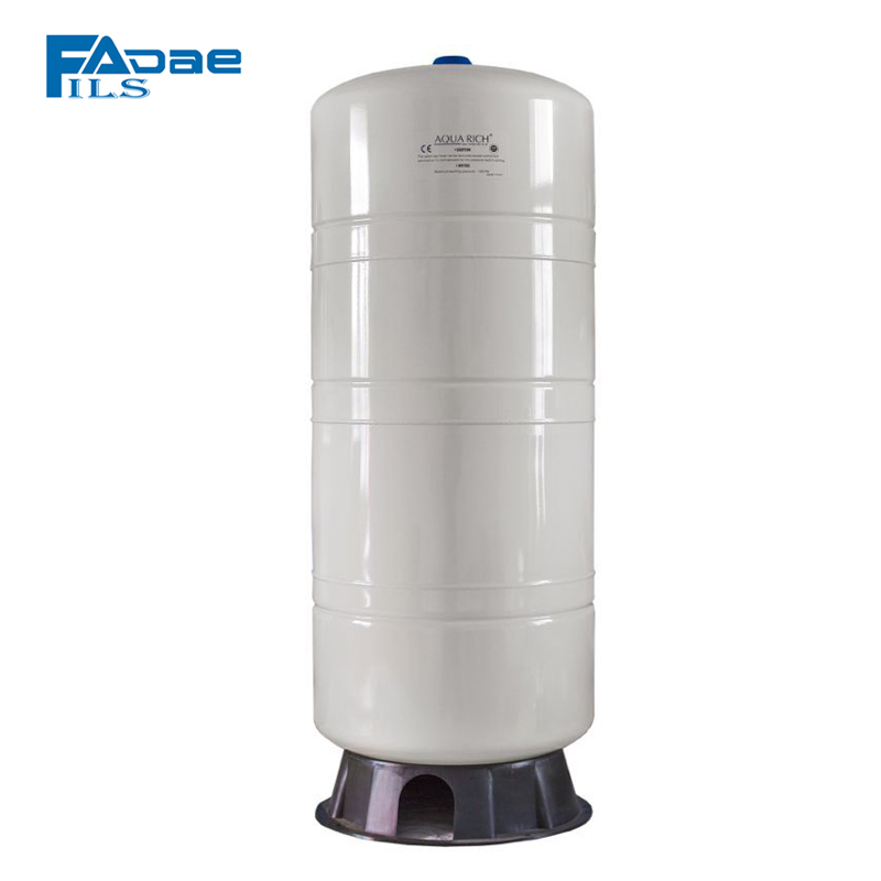 Premium Reverse Osmosis System Vertical Pressure Tank with Composite Base, 28-Gallon Capacity, White Color
