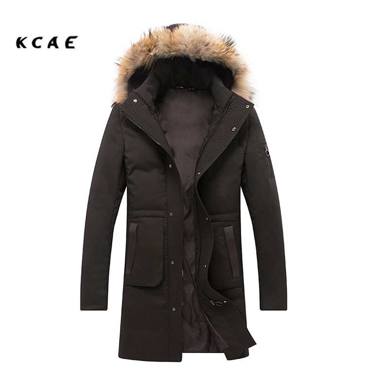 Brand New Winter Jacket Men Thick Warm Solid Cotton Long Parka Mens Winter Jackets And Coats Size M-3XL free shipping winter parkas men jacket new 2017 thick warm loose brand original male plus size m 5xl coats 80hfx