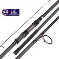 Tideliner 12ft 13ft ปลาคาร์พตกปลา rod 3.6 เมตร 3.9 เมตร fuji reel ที่นั่ง rod 3 ส่วนปั่น trolling คาร์บอน fiber fishing pole