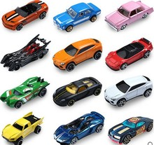 Hot 5pcs/lot Hotwheels cars miniatures hot sale Original race cars scale models mini alloy cars toy for boys hobby collection