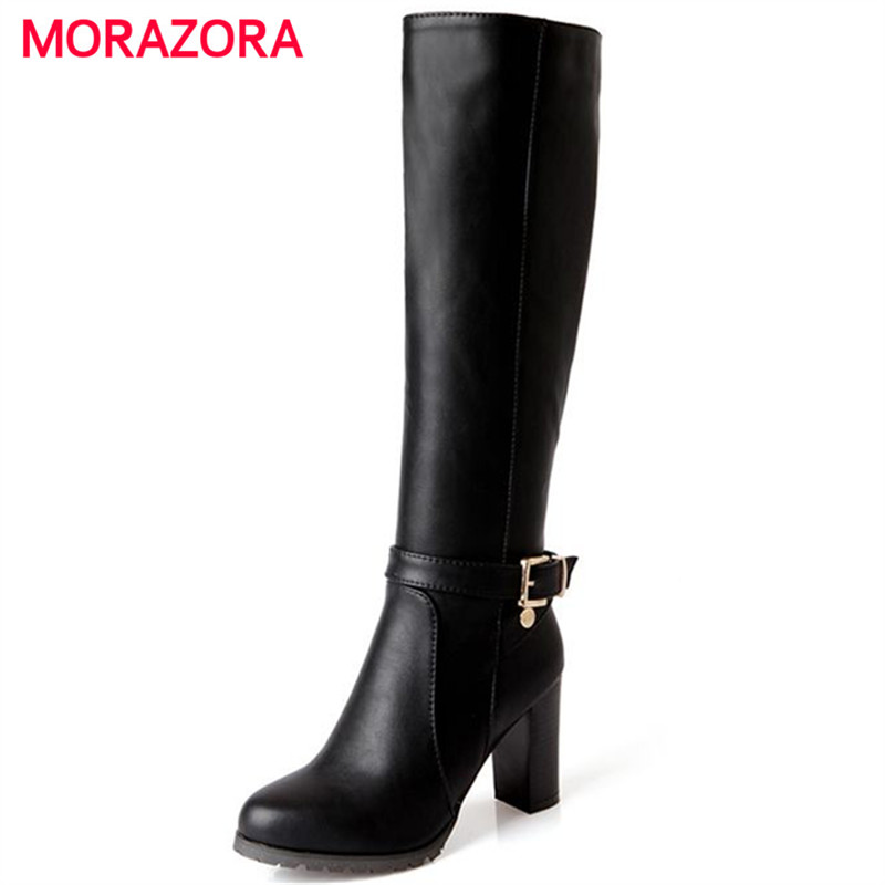 Cheap Knee-High Boots, Buy Directly from China Suppliers:Female High Quality Knee High Boots Women Soft Flock Leather Knee Winter Boots Comfortable Women Long Boots Shoes New Enjoy Free Shipping Worldwide! Limited Time Sale Easy Return/5(4).