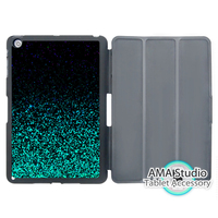Black Green Glitter Pattern Print Case For Apple iPad Mini 1 2 3 4 Air Pro 9.7 Stand Folio Cover 10.5 2016 2017 a1822 New