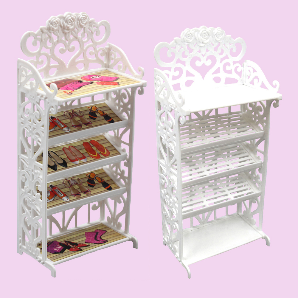 Doll Shoes 5 layers Rack House Furniture Accessory for Blyth dolls barbie Licca 1/6 dolls accessories doll house furniture цена