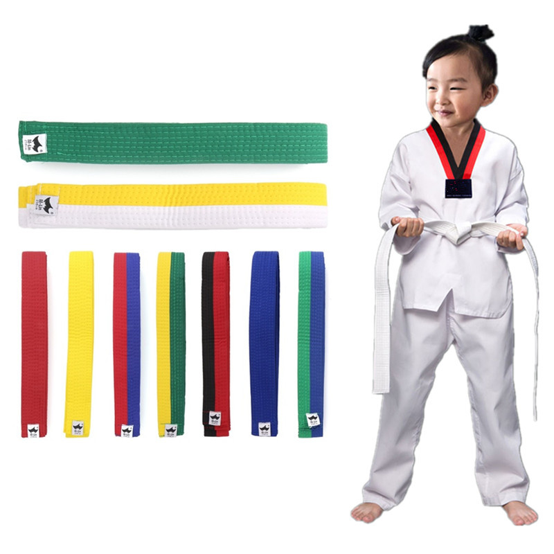 Professional Taekwondo Belt Soft Martial Arts Belt Karate Belt for Adult