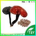 Reishi Lingzhi/Ganoderma Lucidum extracto de polisacáridos en polvo de setas cápsula 500 mg * 300 unids