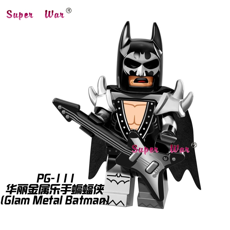 Single Sale star wars superhero marvel Glam Metal Batman building blocks action sets model bricks toys