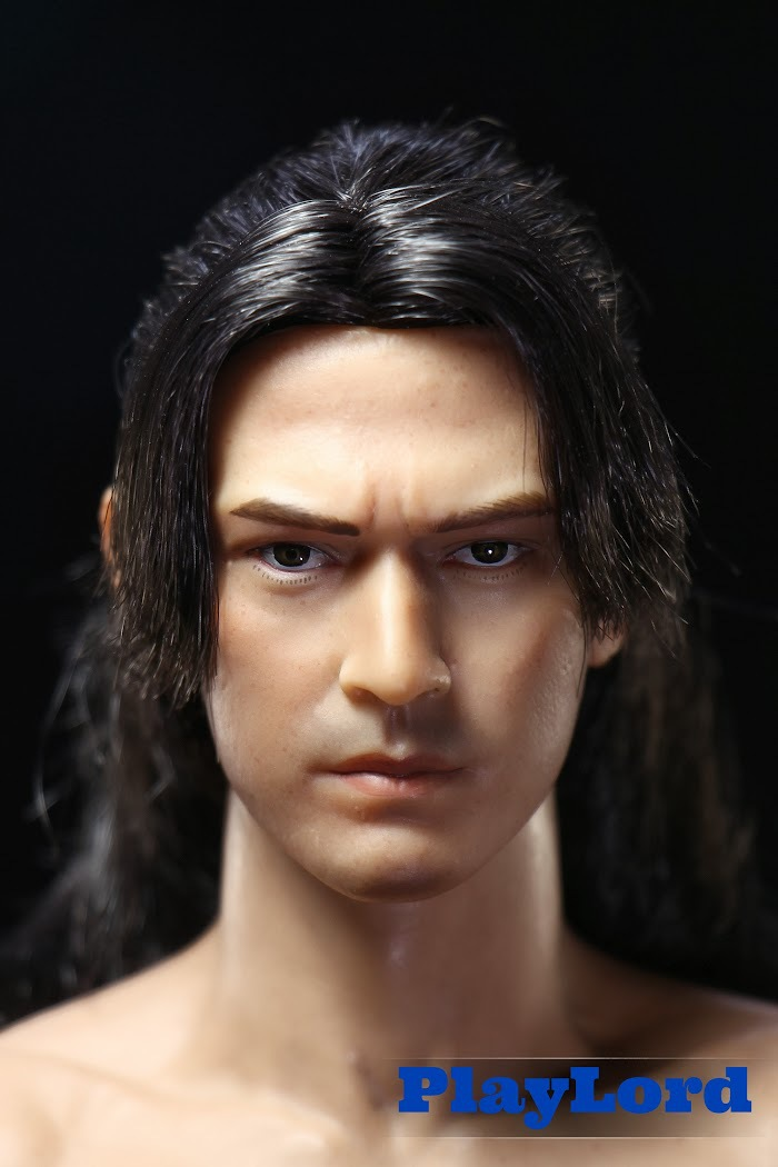 ФОТО 1/6 scale Doll head Male DIY Accessories 12