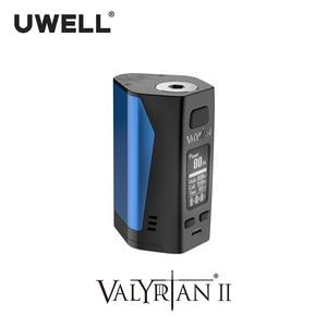Image 4 - UWELL Valyrian II MOD Triple 18650 แบตเตอรี่ 300W อิเล็กทรอนิกส์บุหรี่ VAPE MOD ไม่มีแบตเตอรี่