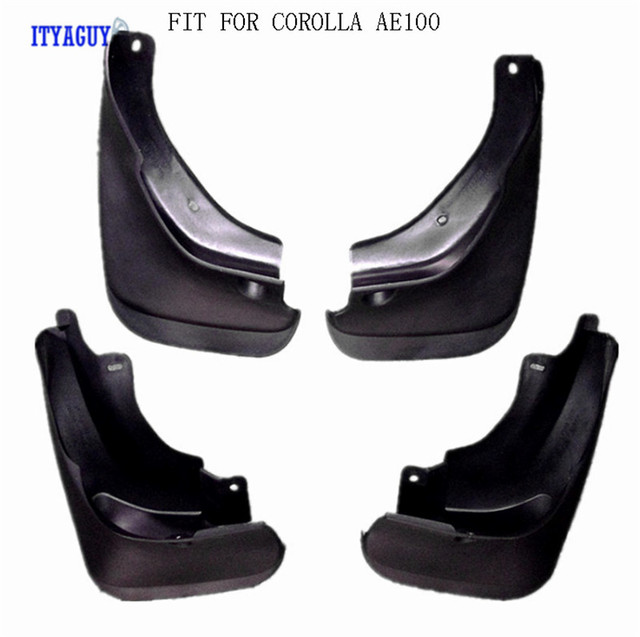 Car styling Mudguards Fit For COROLLA AE90 AE100 Splash guards fender flare Mud Flap mudflaps Mudguard 4PCS Car accesories
