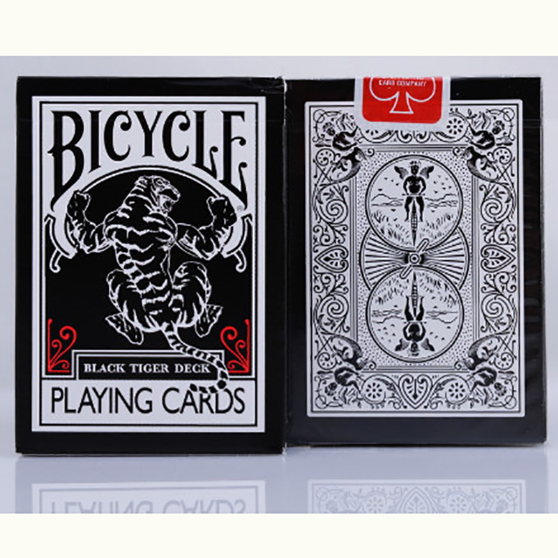 Bicycle Black Tiger Ellusionist Playing Cards 88*63mm Magic Category Poker Cards for Professional Magician