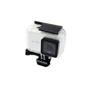 Image 3 - Anordsem Diving 40m Waterproof Case for Xiaomi YI 4k/4k+/yi lite Camera Mount Protective Housing Case