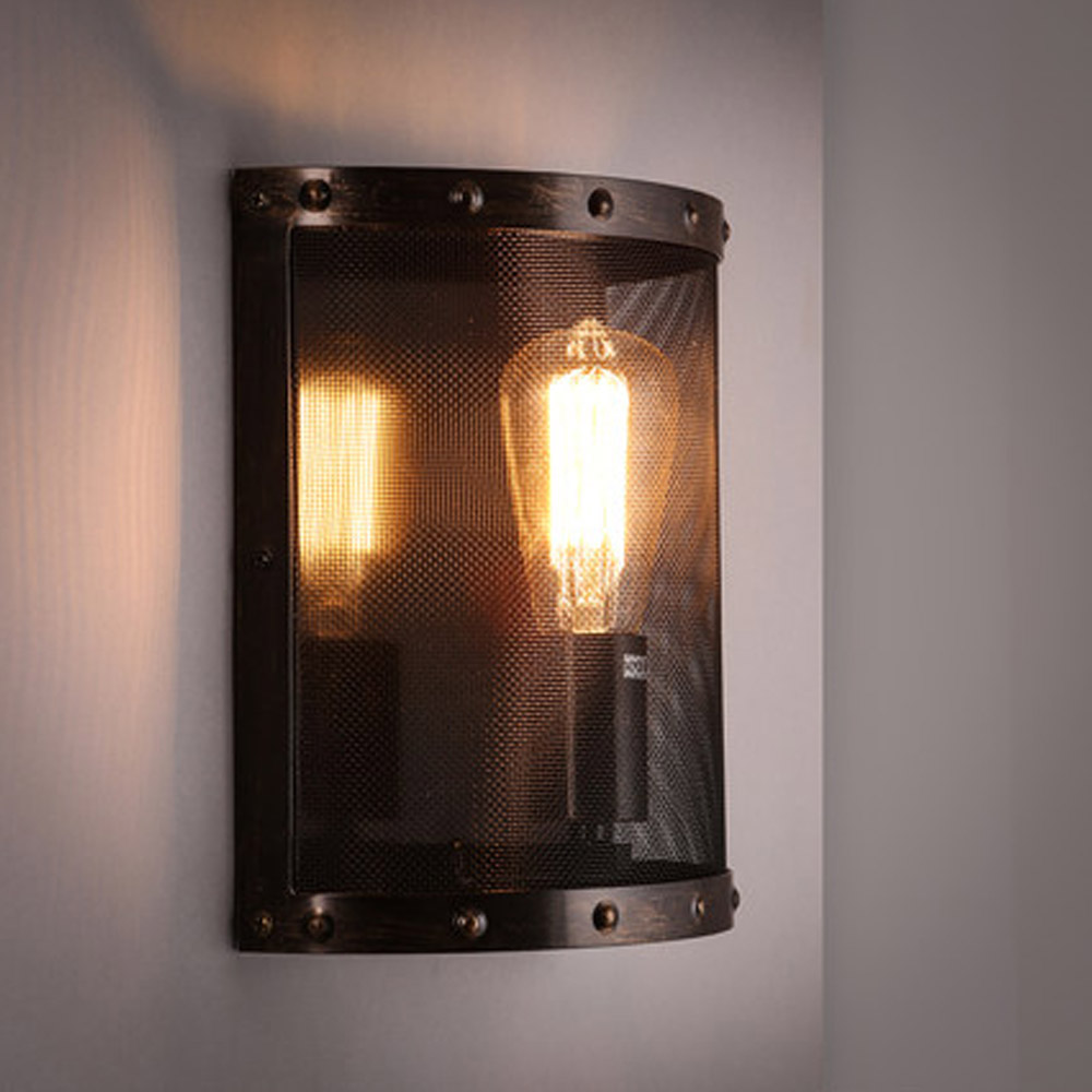 Flush Mount Wall Light