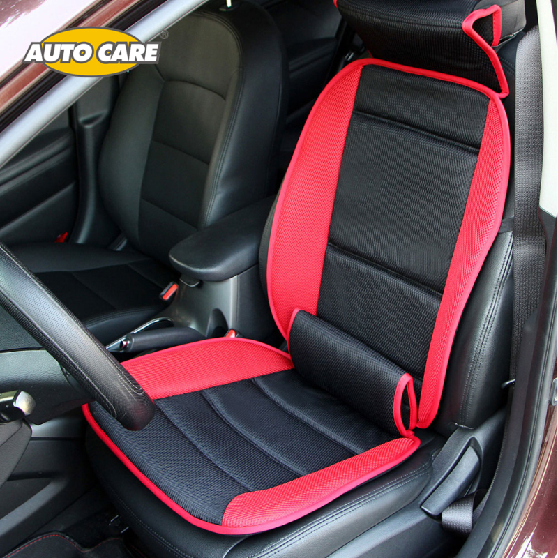 autocare 1pc multifunction comfortable car seat cushion with lumbar and neck support car seat. Black Bedroom Furniture Sets. Home Design Ideas