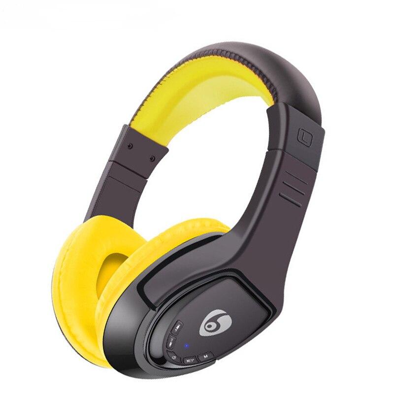 NVAHVA Sur-Oreille Bluetooth Casque MP3 Lecteur Portable Micro SD Carte Lecteur MP3 Casque Avec FM Sans Fil Bluetooth Écouteur