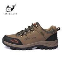 ZHJLUT Nuevos Auténticas Mujeres de Los Hombres de Montaña Al Aire Libre Senderismo Zapatos Hombres Ocio Deportes Zapatos Atléticos Calidad Amante Zapatos de Senderismo