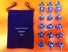Dragon and Dungeon dice/Board game runs open missions/Personality transparent dice/Educational / entertainment / playing