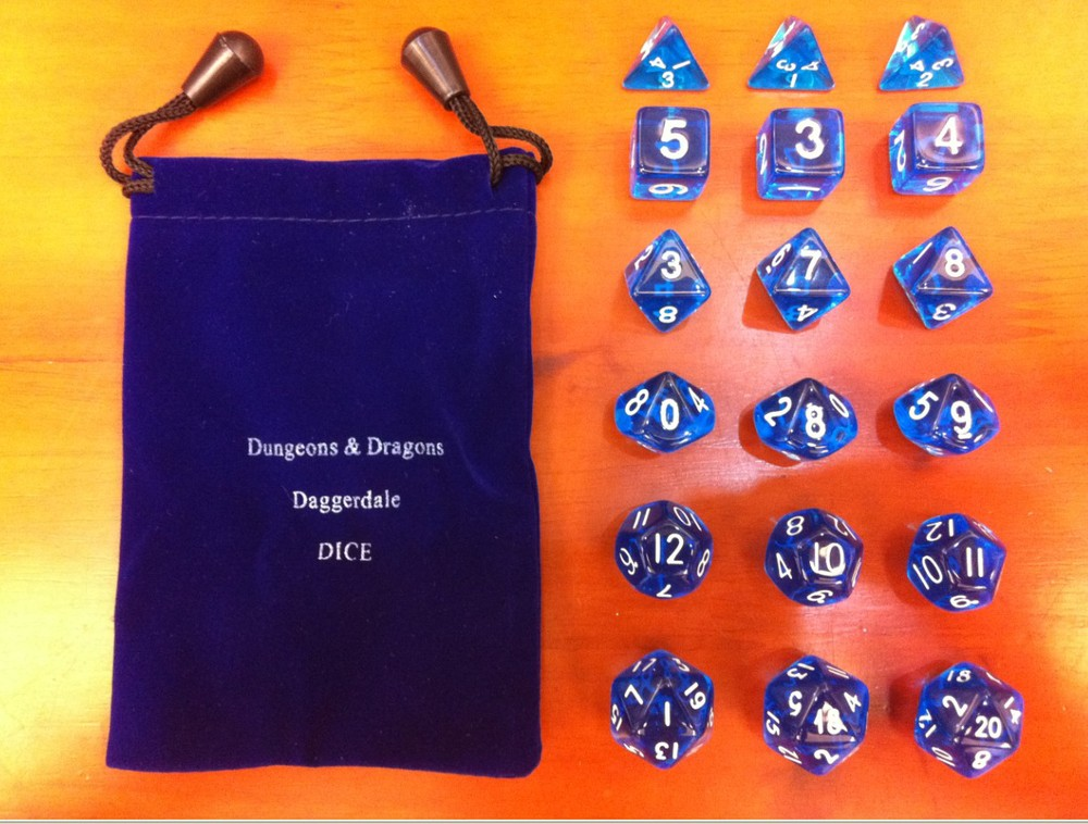 Драгон анд Дунгеон коцкице / Игра на плочи води отворене мисије / Личност транспарентна коцкица / Едукативна / забава / играње