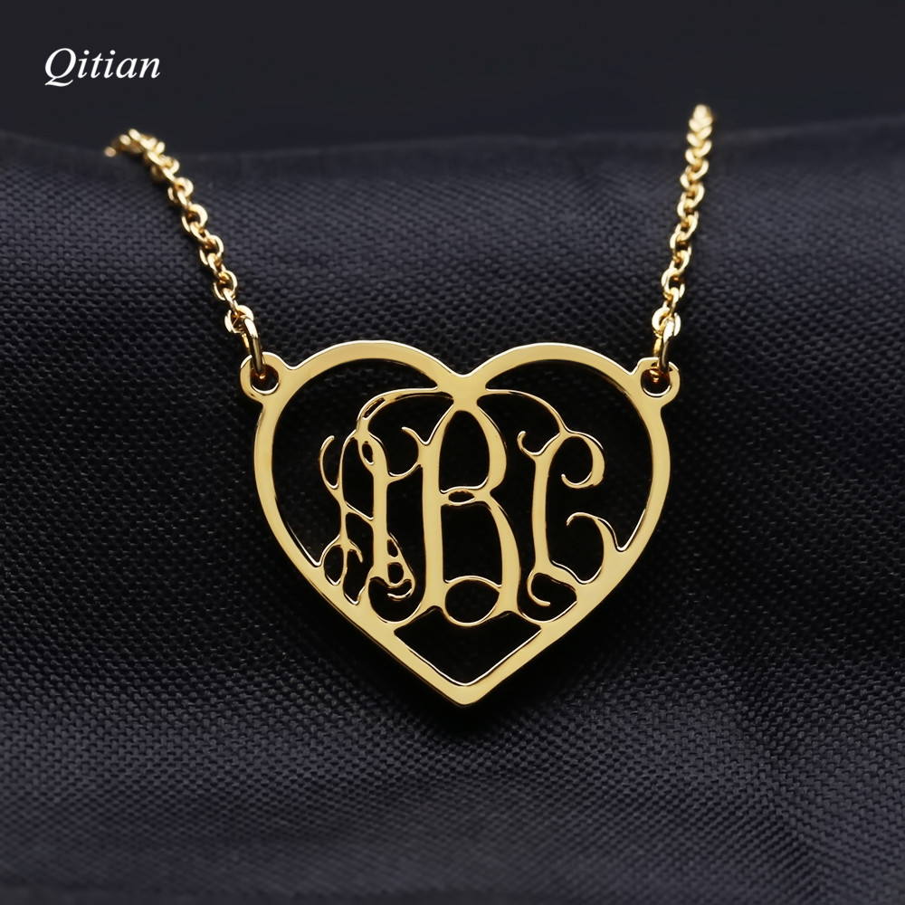 Love Heart Personalized Name necklace