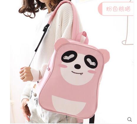 Cute cartoon Oxford cloth shoulder bag Japanese and Korean students backpack men and women college wind