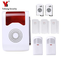 Loudly Voice Security System Wireless Anti Theft Alarm Voice Control Access With PIR Motion Door Window
