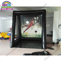 Beach Toys For Kids Training Equipment Soccer Goal Target ,Inflatable Soccer Frame Football Door With Free Air Pump